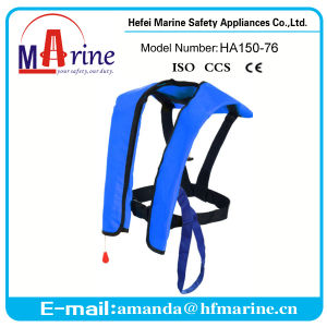Ce Certificate Blue Color CO2 Life Jacket pictures & photos