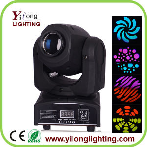 Mini 10W CREE Gobo Effect Wash Moving Head Light pictures & photos