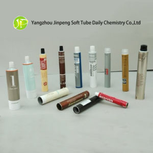 Cosmetic Tubes Aluminum Tubes with Offset Surface Handling
