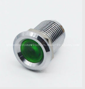 12mm Colorful 24V Spade Pin Indicator LED pictures & photos