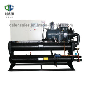 340HP Hanbell Double Compressor Water Cooled Screw Chiller pictures & photos