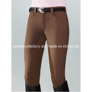 Horse Riding Jodhpurs Breeches for Lady (SMB3069) pictures & photos