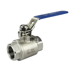 ISO9001 Certificate High Pressure Ball Valve with NPT Thread pictures & photos