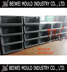 High Quality Large Plastic Stacking Storage Bin Mold pictures & photos