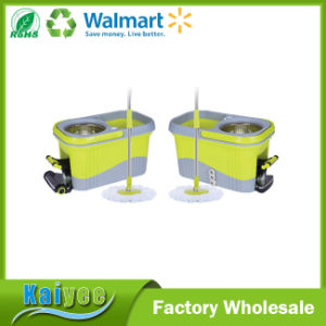 360 Mop, Green Cleaning Small Mop Bucket Foot Pedal pictures & photos