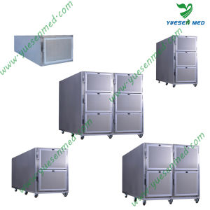 Yuesenmed Medical Stainless Steel Mortuary Unit pictures & photos