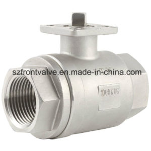 Stainless Steel 2PC Ball Valve with ISO Pad pictures & photos