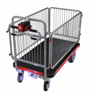 Hand Truck with Fence (DH-C800B Light Duty, Curtis Controller, 800W Motor)