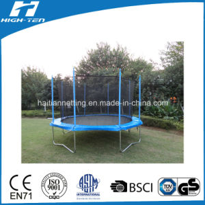 6-16FT Simplified Big Round Trampoline with Enclosure pictures & photos