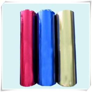 Printed VMPET Coated PE Film in Roll for Packaging Material pictures & photos