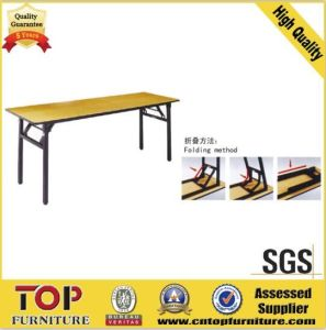 Professional Design Banquet Folding Table for Meeting Room (CT-8017) pictures & photos