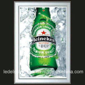 Aluminum Frame Ultra Slim LED Light Box pictures & photos
