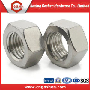 S32750 M24 Ss Hex Nuts pictures & photos