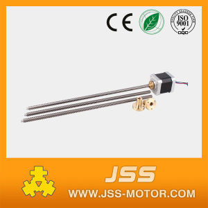 Threaded Rod NEMA 17 Stepper Motor, Lead Screw Tr8*8 Stepper Motor pictures & photos