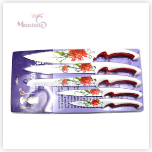 Stainless Steel Kitchen 5PCS Knife Set pictures & photos