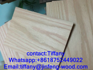 Factory Produce Nature Red Oak Veneer MDF 2-25mm pictures & photos