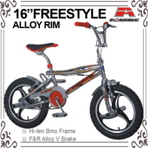 Chrome Color 16 Inch BMX Freestyle Bicycle (ABS-1601S) pictures & photos