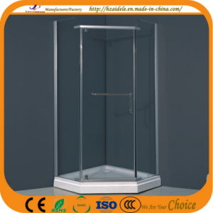 Diamond Tray Glass Shower Cabinet (ADL-8025) pictures & photos