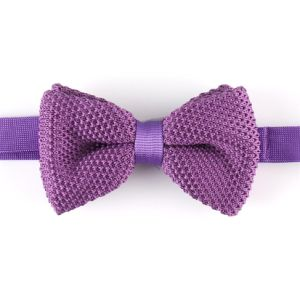 Men′s Fashionable Plain Knitted Bow Tie (YWZJ 16) pictures & photos