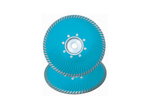 Cold-Pressed Fine Turbo Saw Blade with Droplike Hole. Diamond Saw Blade pictures & photos