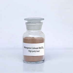 Manganese Carbonate (High purity level) /Catalyzer