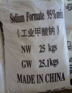 Sodium Formate 98% for Chemical raw materials use pictures & photos