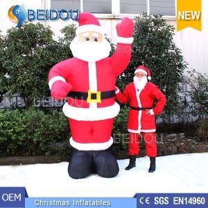China Factory Wholesale Cheap Inflatable Santa Giant Christmas ...