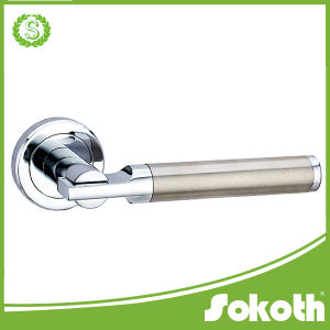 Modern Style Satin Chrome Door Handle pictures & photos
