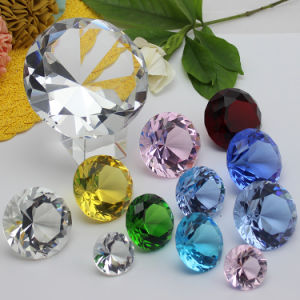 Crystal Glass Diamond Craft for Wedding Gift Souvenir pictures & photos