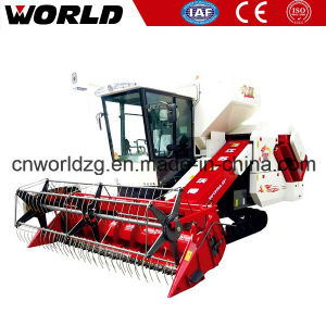 Rice and Wheat Combine Harvesters of Farm Machinery pictures & photos