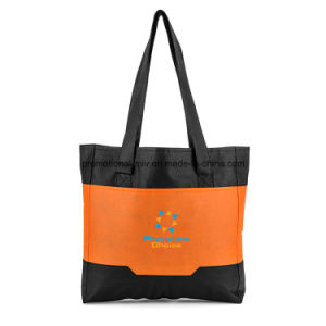 Pocket Polyester Tote for Promotion pictures & photos