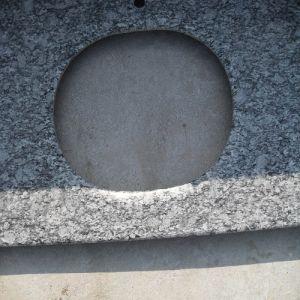 Spray White Granite Bathroom Vanity Top for Building Materials