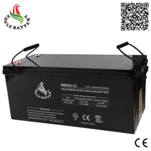 12V 200ah Rechargeable Sealed Lead Acid Battery for Solar pictures & photos