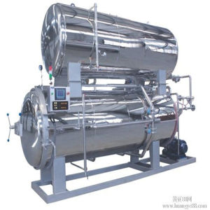 Double Layers Stainless Steel Water Bath Type Sterilizer Machine pictures & photos
