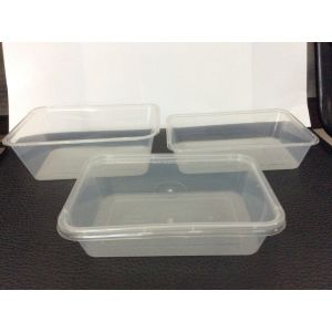 Disposable Plastic Transparent Deli Container Clear Food Grade Salad Box pictures & photos