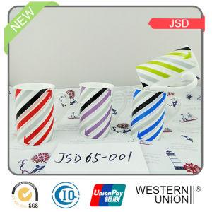 Color Glazed Ceramic Mug with High Quality pictures & photos