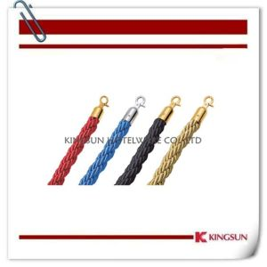 Hotel Decoration Greeting Products Red Rope for Rope Stanchions pictures & photos