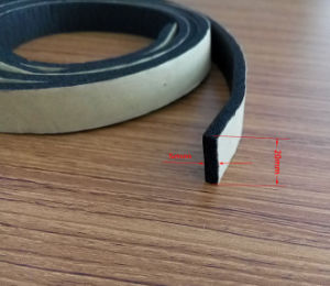 Building Soundproof Adhesive EPDM Rubber Seal Strip pictures & photos