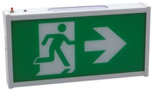 Single Face Configuration Wall Mounting Running Man LED Exit Sign pictures & photos