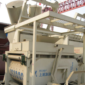 CE Approve 50m3/H Capacity Js1000 Italian Concrete Mixer, Concrete Mixer 1m3, One Bagger Concrete Mixer pictures & photos