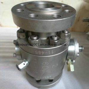 3-PC Forged Steel Industrial Flanged Ball Valve pictures & photos