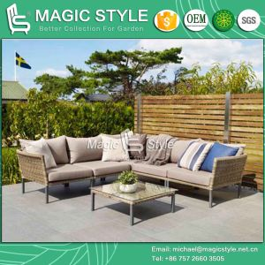 Rattan Corner Sofa Wicker Sofa Combination Sofa Outdoor Sofa Modern Sofa Garden Furniture Patio Furniture Aluminum Sofa Sofa Set Backyard Sofa (Magic Style) pictures & photos