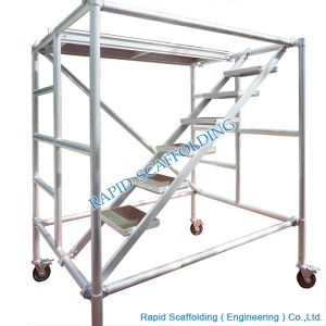 A6061 T6 Aluminum Frame Scaffolding pictures & photos