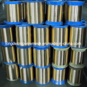 High Quality Bare Solid Brass Fine Wire 0.5mm pictures & photos