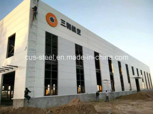 Steel Structure Prefab Factory/Lgs Frame Steel Structure Workshop/Godown pictures & photos