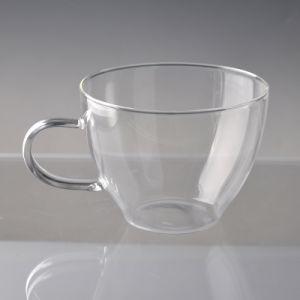 Single Wall Borosilicate Big Coffee Mug pictures & photos