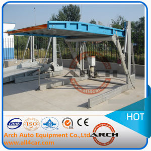 2 Post Car Parking Lift Table Vehicle Hoisting pictures & photos