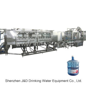 Micro-Computer 5 Gallon Bottle Washing Filling Capping Machine (900bph) pictures & photos