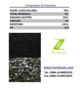 Humizone Super Humic Fertilizer: Sodium Humate Granular pictures & photos