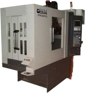 High Precision Drilling and Tapping CNC Machine Tool for Metal Mold Processing